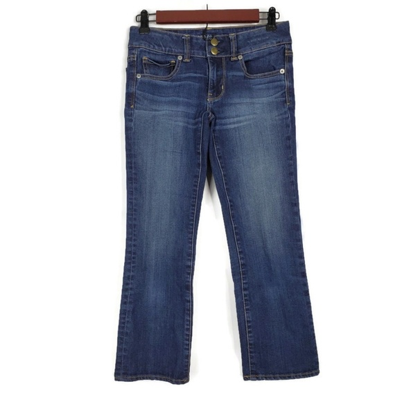 American Eagle Outfitters Denim - American Eagle Super Stretch Artist Cropped Jeans